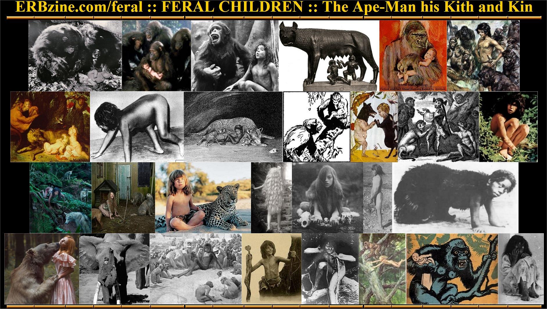 feral children language development