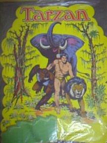 Tarzan paper centerpiece dated 1975-1977