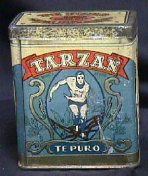Tarzan Coffee Tin