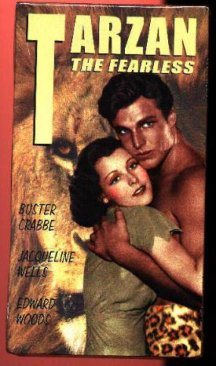 Tarzan the Fearless Video Tape: Buster Crabbe
