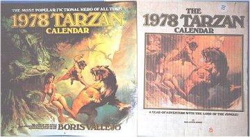 Boris 1978 Tarzan Calendar