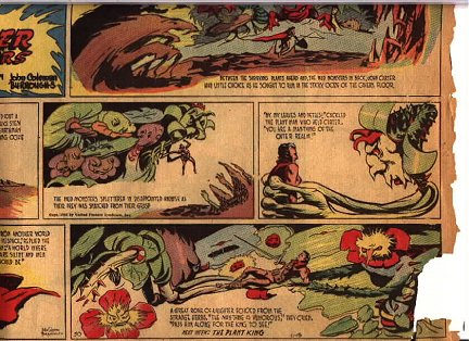 Sunday Page: John Carter of Mars by John Coleman Burroughs