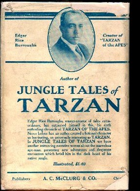 Jungle Tales Book Cover Ad