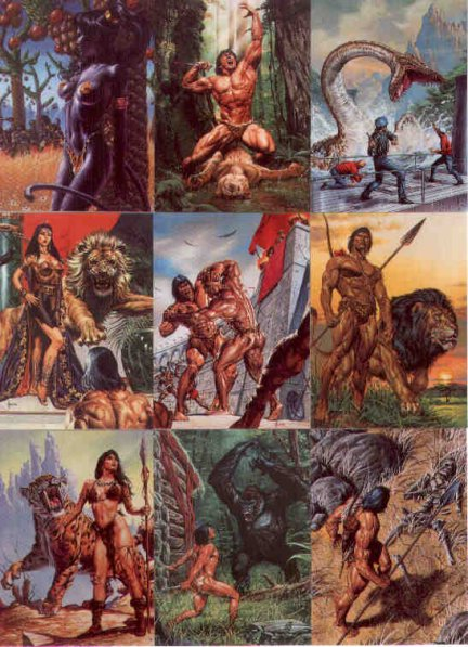 Joe Jusko 9 Cards