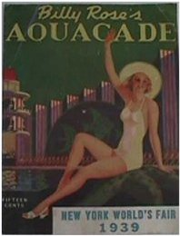 1939 NY Fair: Billy Rose's Aquacade with Weissmuller