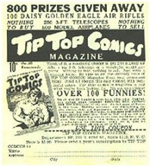 Tip Top Comics Ad