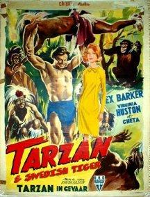 Foreign Tarzan Movie Poster