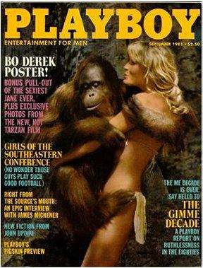 Playboy September 1981: Bo Derek Cover