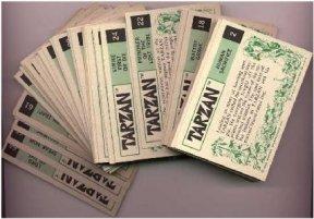Tarzan Trading Cards