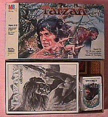 1984, Milton Bradley, Tarzan Card Game.No.4411