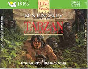 Tarzan of the Apes Talking Book on CD