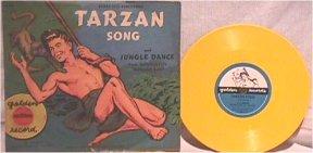 Tarzan Song Record '50s