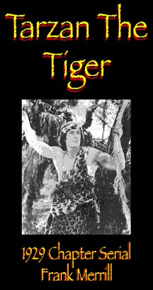 Tarzan the Tiger 1929 Serial - Video Tape