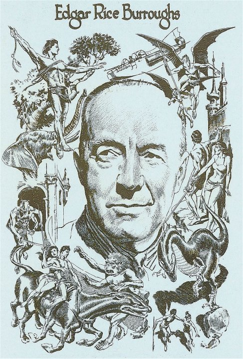 Edgar Rice Burroughs by Al Williamson and Reed Crandall ~ Courtesy Richard Lupoff