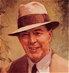 Edgar Rice Burroughs portrait by J. Allen St. John