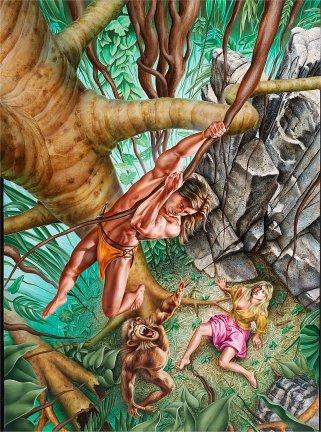 Tarzan of the apes fucking jane - 5 5