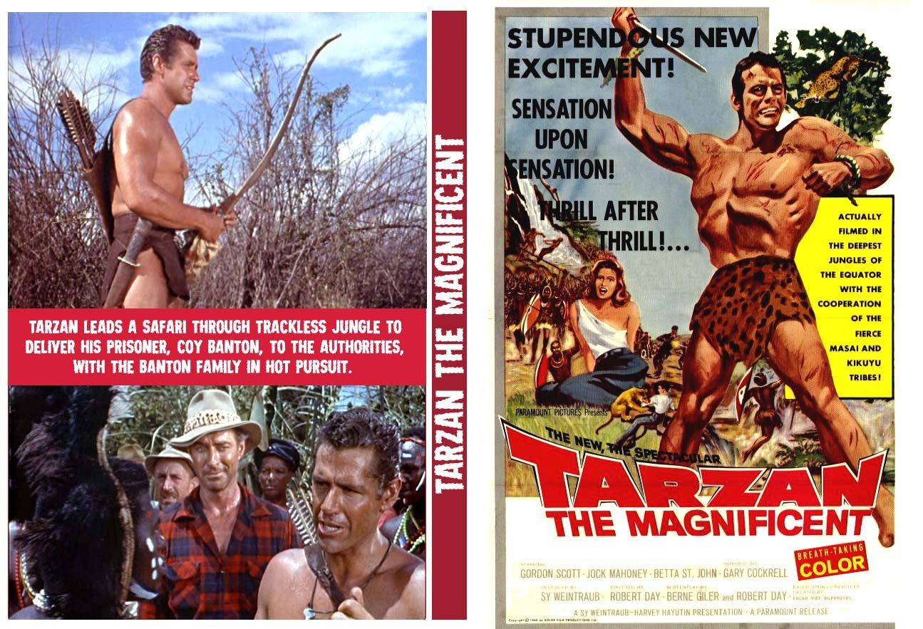 Tarzan the Magnificent ERBzine 1958 Tarzan the Magnificent