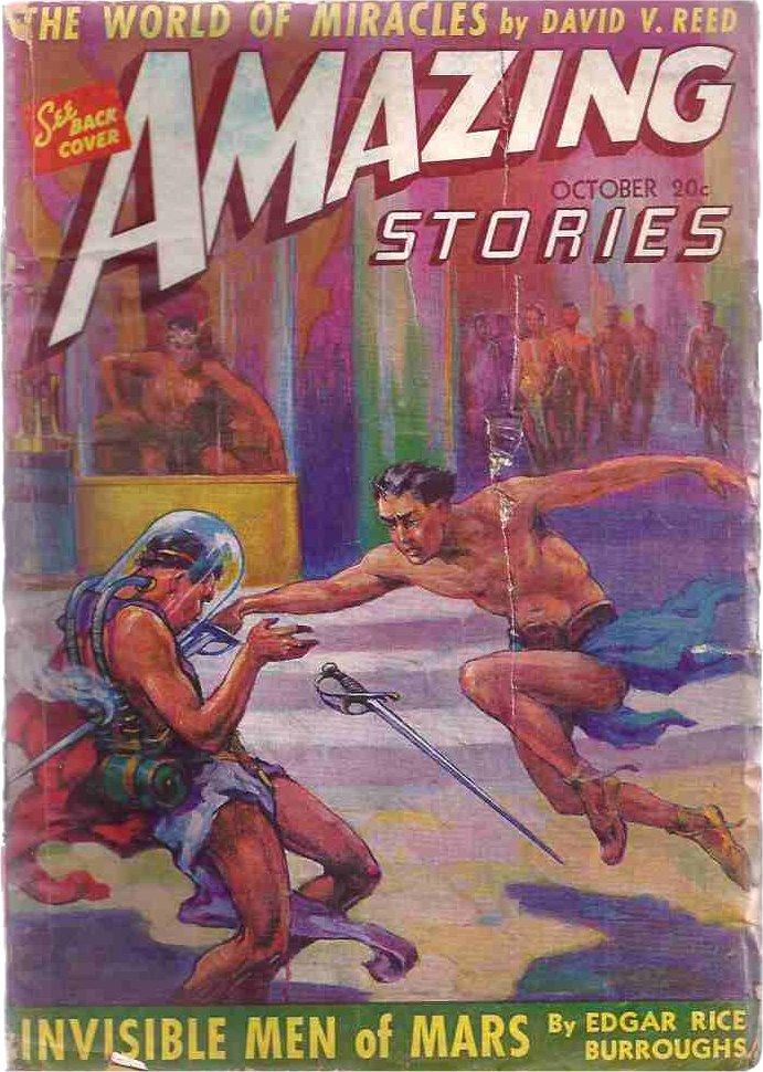 259a860951a Amazing  October 1941 - Invisible Men of Mars (Llana of Gathol) - J ...
