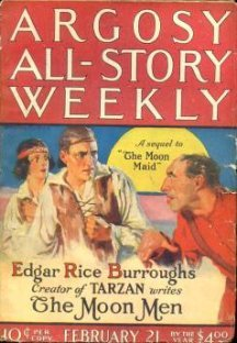 Edgar Rice Burroughs 'The Moon Men'