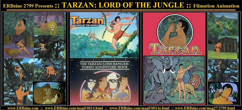 Erbzine 2799 Tarzan Filmation Animation Series