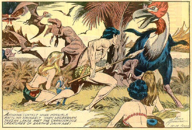 Tarzan par Russ Manning : réédition Jetz04h6