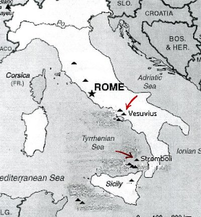 map of southern italy and sicily regional