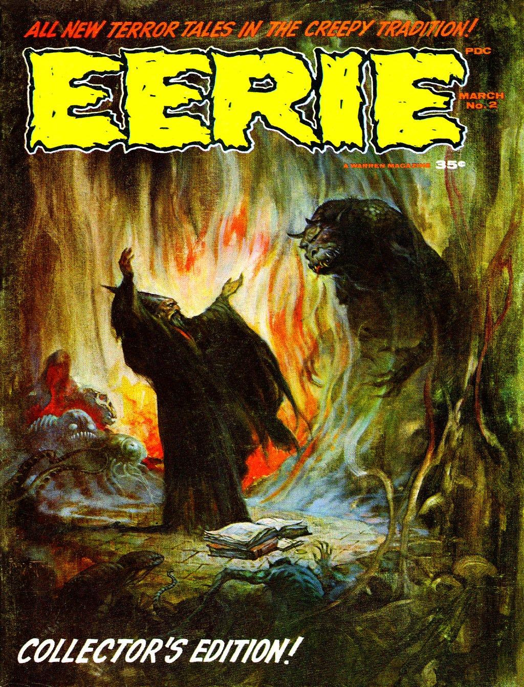 ERBzine 3127: Warren Covers II: Eerie ~ Vampirella ...