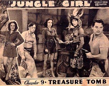 Jungle Girl (serial) ERBzine 0549 Jungle Girl ERB of the Silver Screen