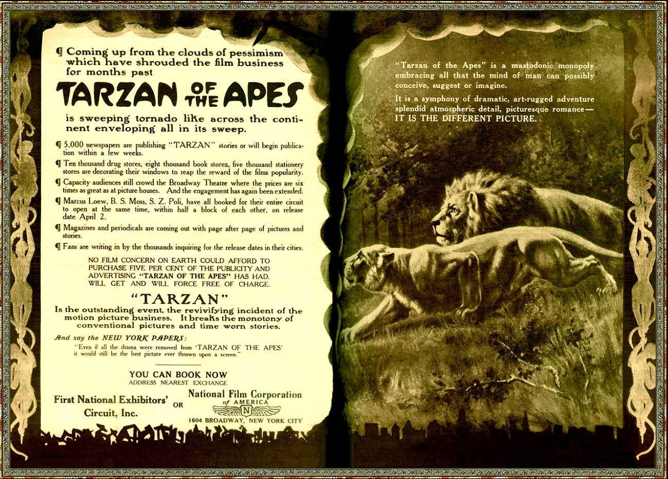 an introduction to the analysis of tarzan of the apes Essays from bookrags provide great ideas for tarzan of the apes essays and paper topics like essay view this student essay about tarzan of the apes.