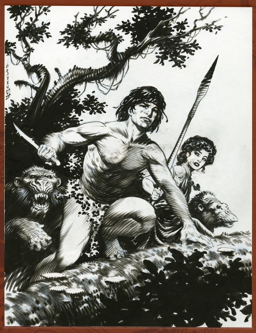 Popolare ERBzine 5682: Kubert's Tarzan MS53