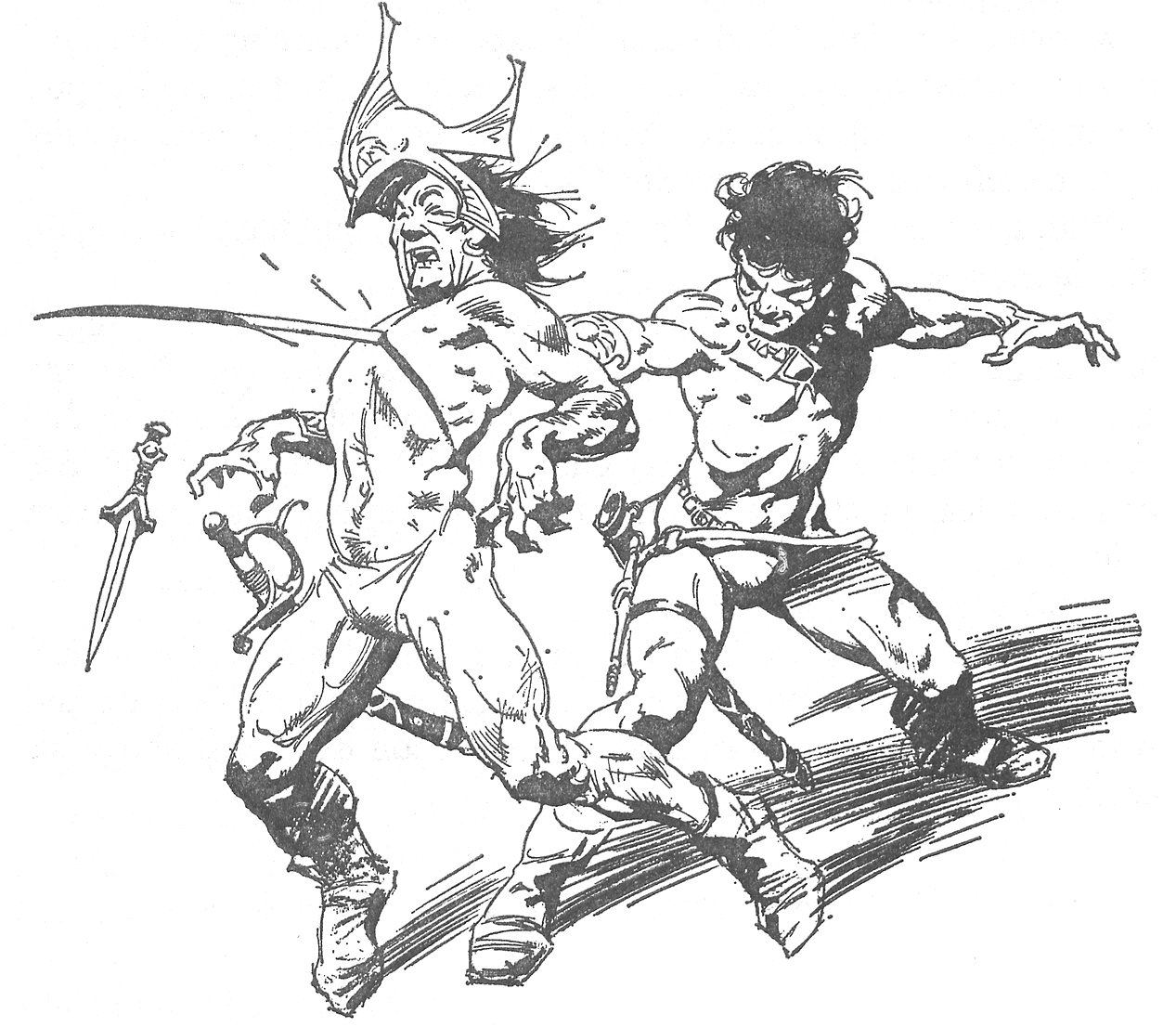 erbzine 0736 swords of mars chaser